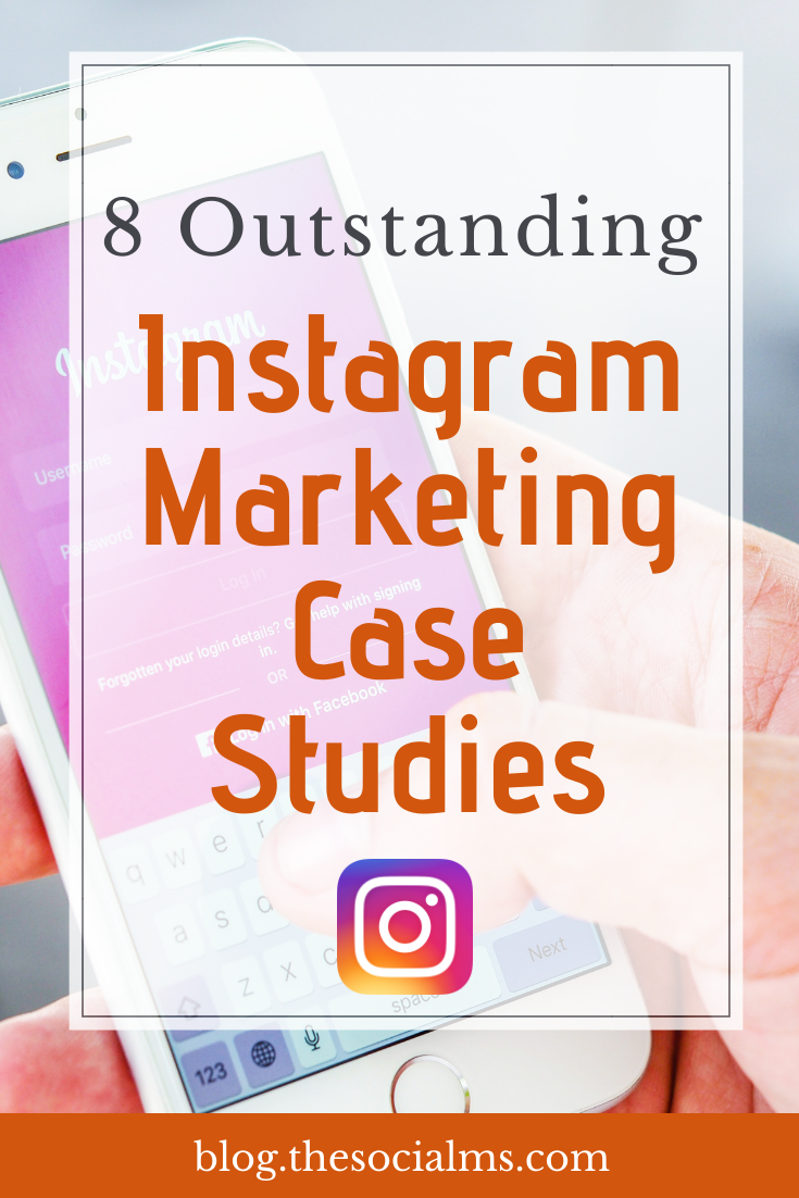 To give you an impression of what is possible with Instagram and show you how to help to push your brand here are 8 case studies on how brands use Instagram to market their business. #instagram #instagramtips #instagrammarketing #instagramexamples #socialmedia #socialmediatips #socialmediamarketing