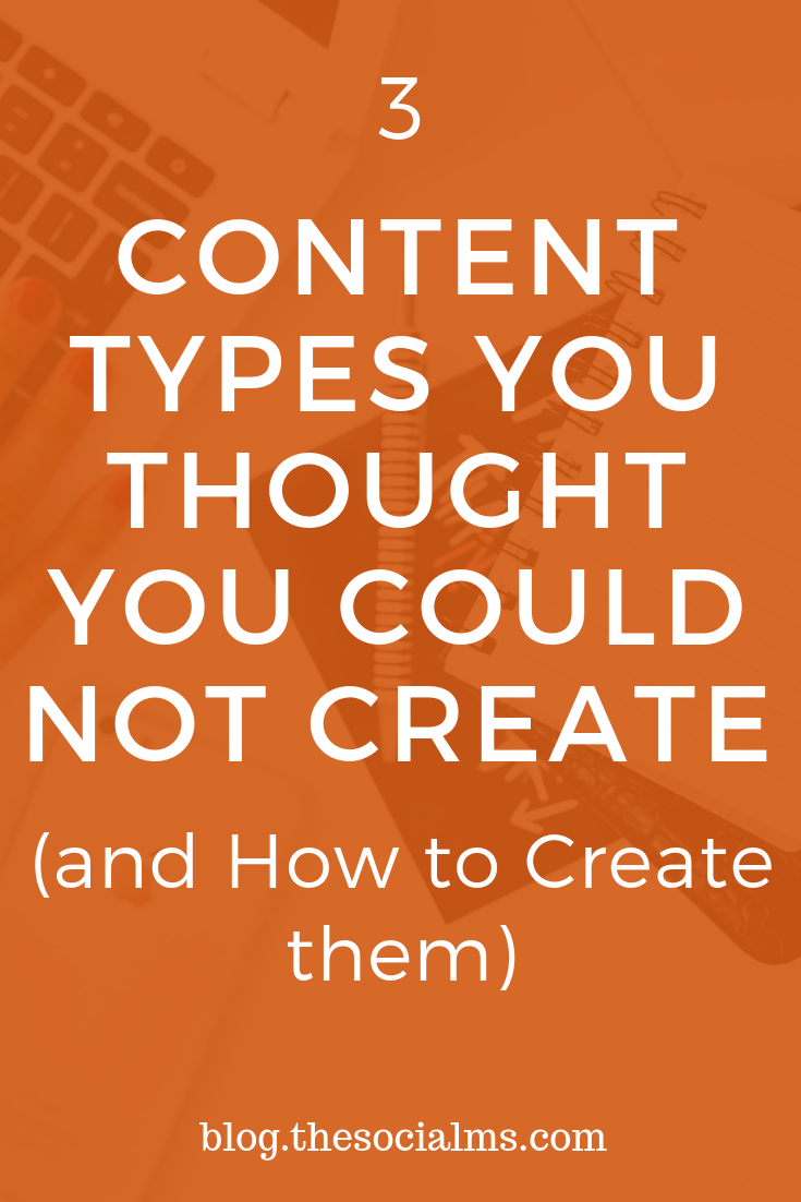 There are some types of content that can boost your success but you may have thought you could not create them. Here are some tools to help you create a variety of content to boos your blogging success. #bloggingtips #contentmarketing #contentcreation #marketingtools #contenttools