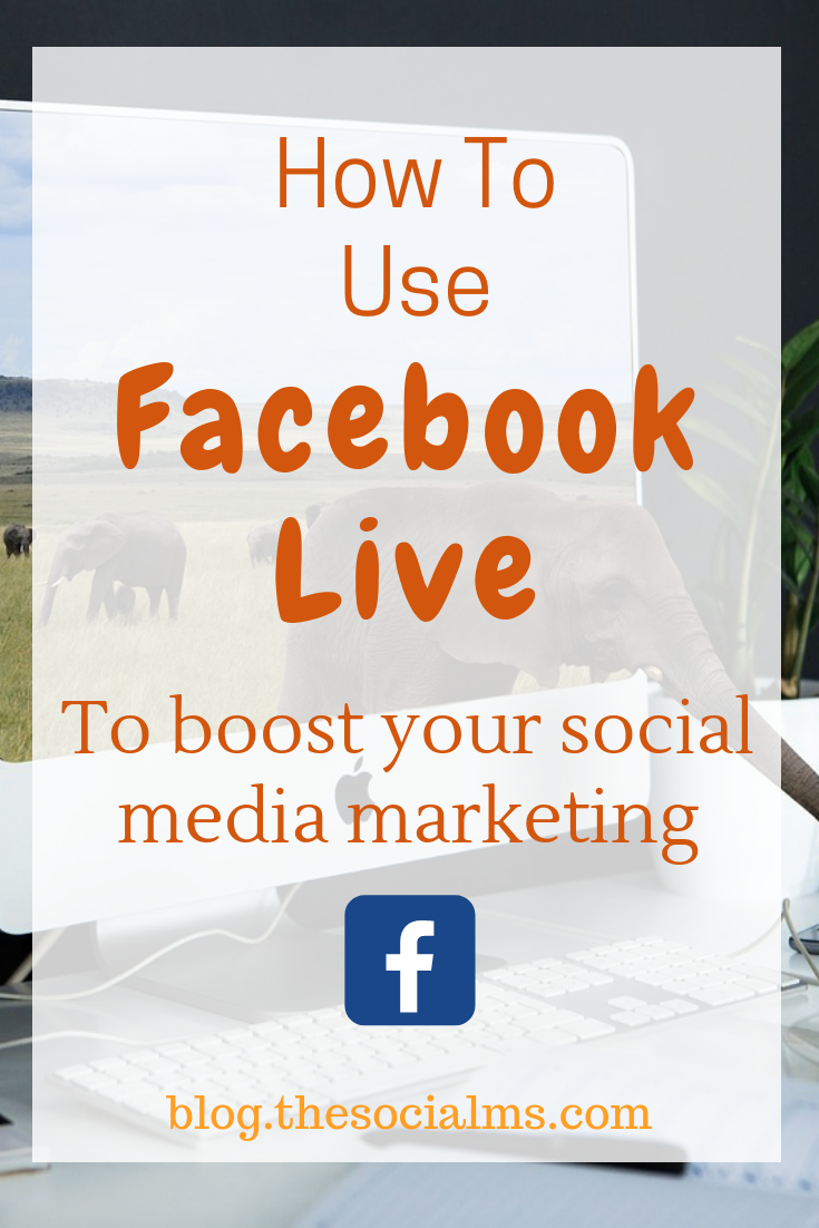 Facebook live video is a huge opportunity to reach more people with your Facebook marketing efforts. Here are Facebook tips to help you get your live video session set up. #facebook #facebooktips #facebookstrategy #facebooklive #facebookmarketing