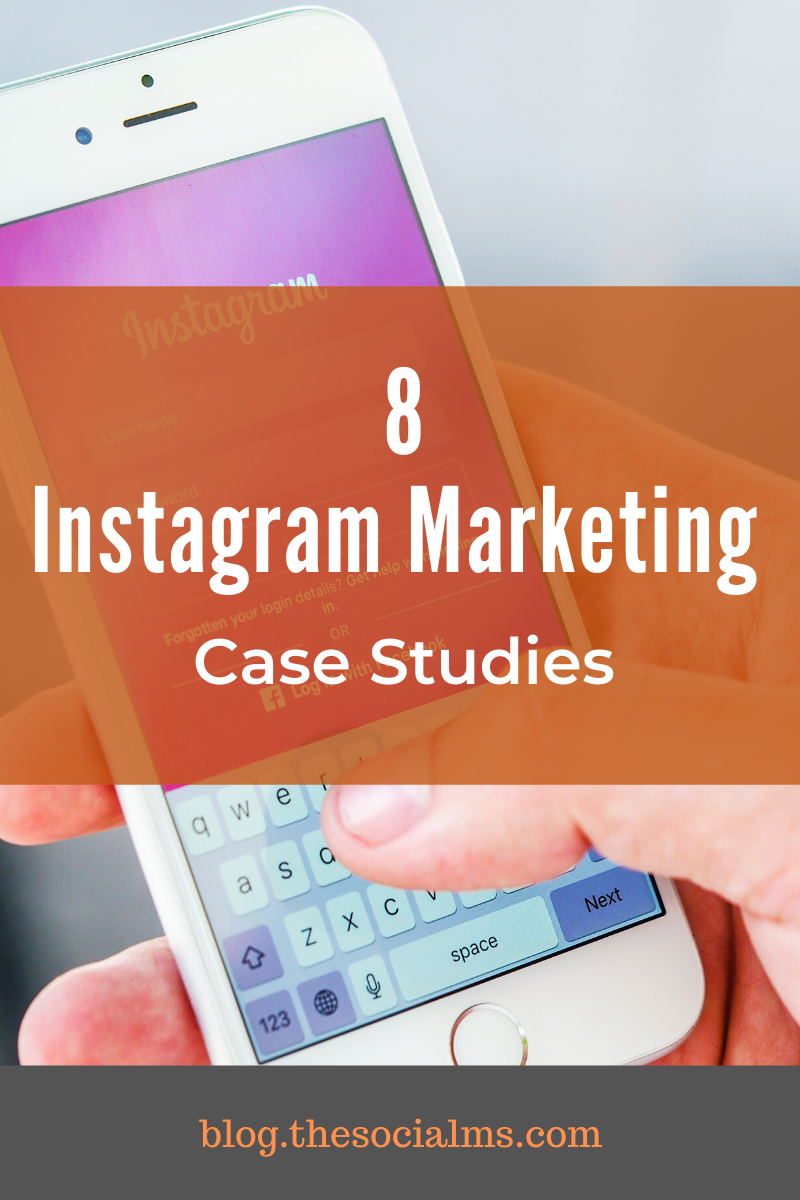 To give you an impression of what is possible with Instagram and show you how to help to push your brand here are 8 case studies on how brands use Instagram to market their business. #instagram #instagramtips #instagrammarketing #instagramstrategy #socialmedia #socialmediatips