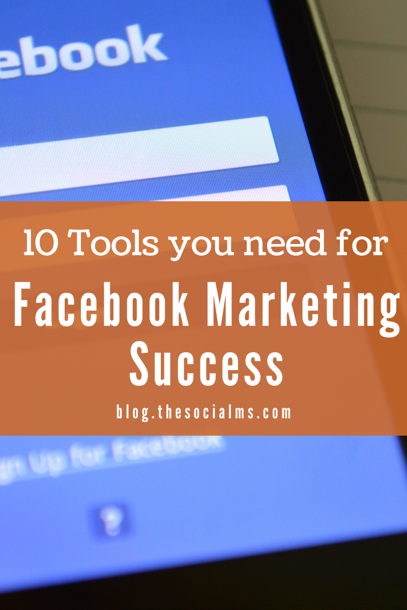 there are also some very useful tools for Facebook. And here is our special list of tools to help you with your Facebook marketing success. #facebook #facebooktools #facebookmarketing #facebooktips #socialmediatools #socialmediatips #socialmediamarketing