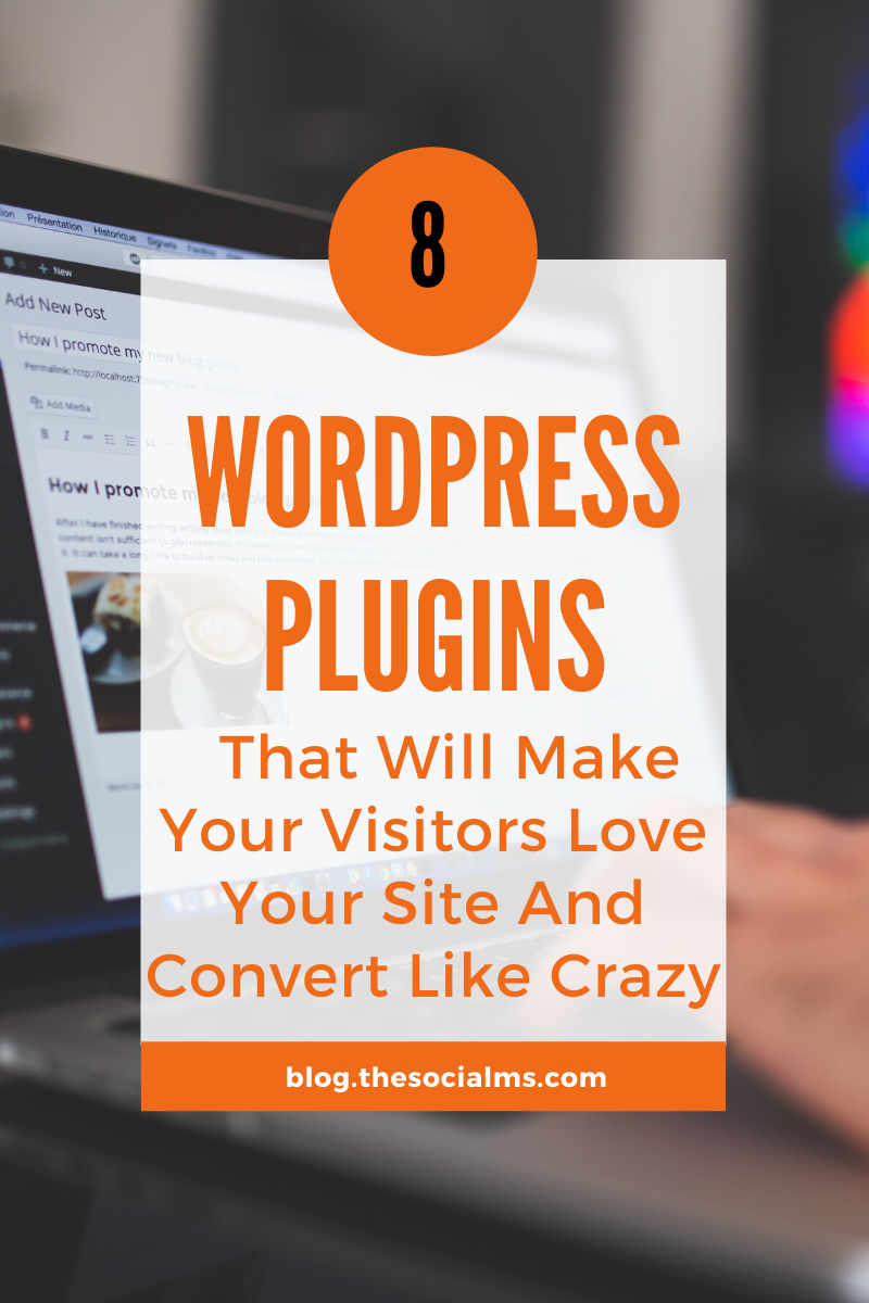 There are literally 10s of 1000s of WordPress Plugins. Some are well known and easy to find because people talk about them all the time. Here are 8 crazy value WordPress plugins you never knew existed #wordpress #bloggingtools #blogging101 #startablog #wordpressplugins #wordpresstips #startablog
