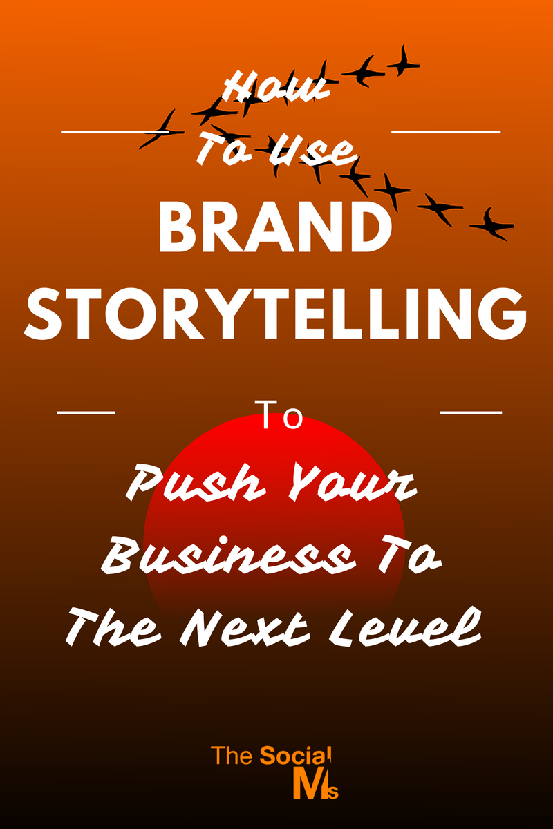 Brand storytelling can help you sell online. The right story told at the right time is a very powerful marketing instrument.