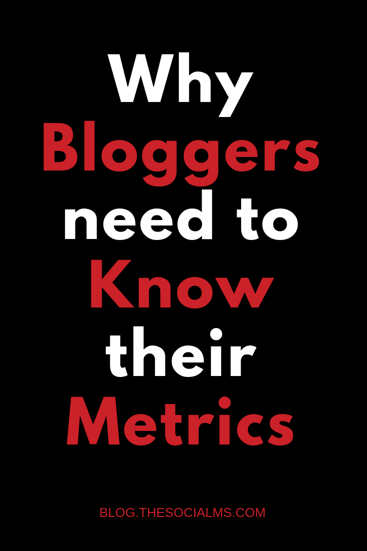 For every marketing method, you need to define the right marketing metrics and find a way to measure, analyze and interpret this data. bloggers need to watch their metrics to find blogging success. #bloggingtips #bloggingmetrics #marketingmetrics #bloggingsuccess