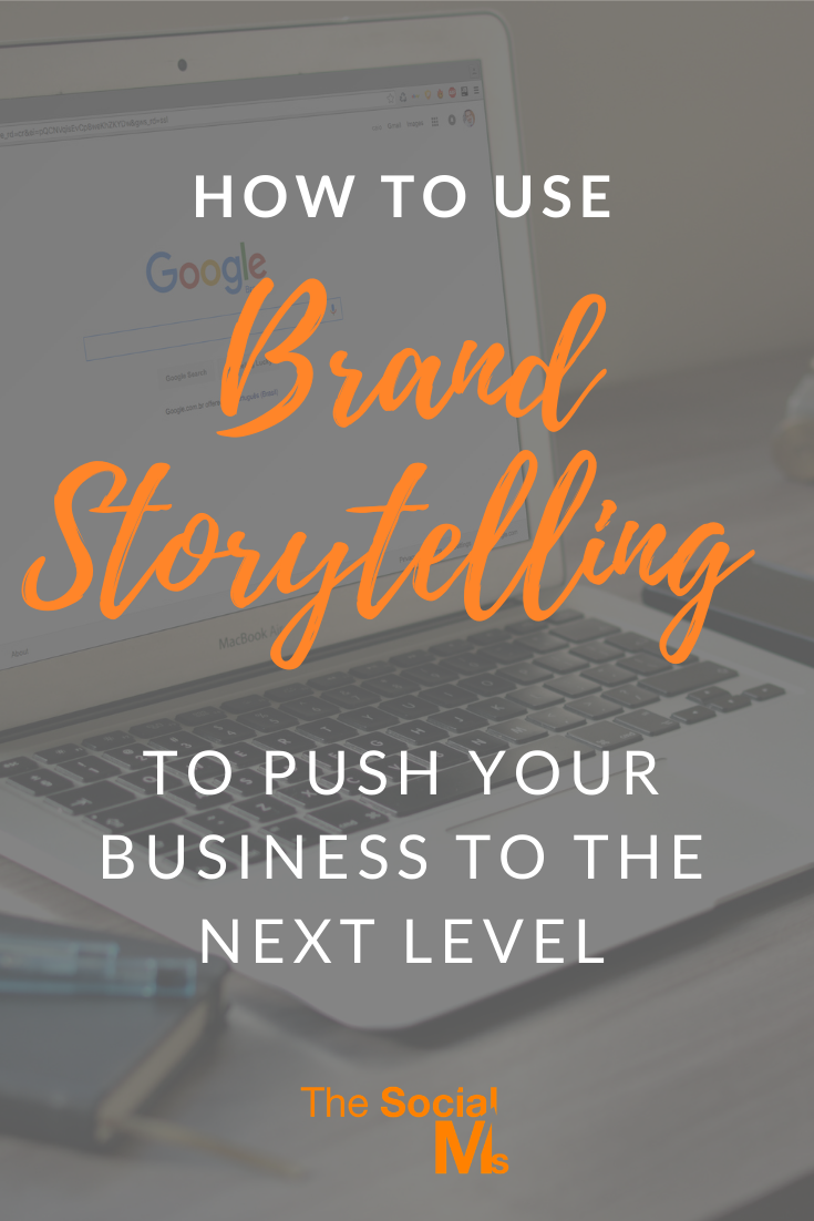 (brand) storytelling should be a major part of your online content.  What is brand storytelling? #branding #brandstorytelling #storytelling #brandbuilding #smallbusinessmarketing #startupmarketing #onlinebusiness