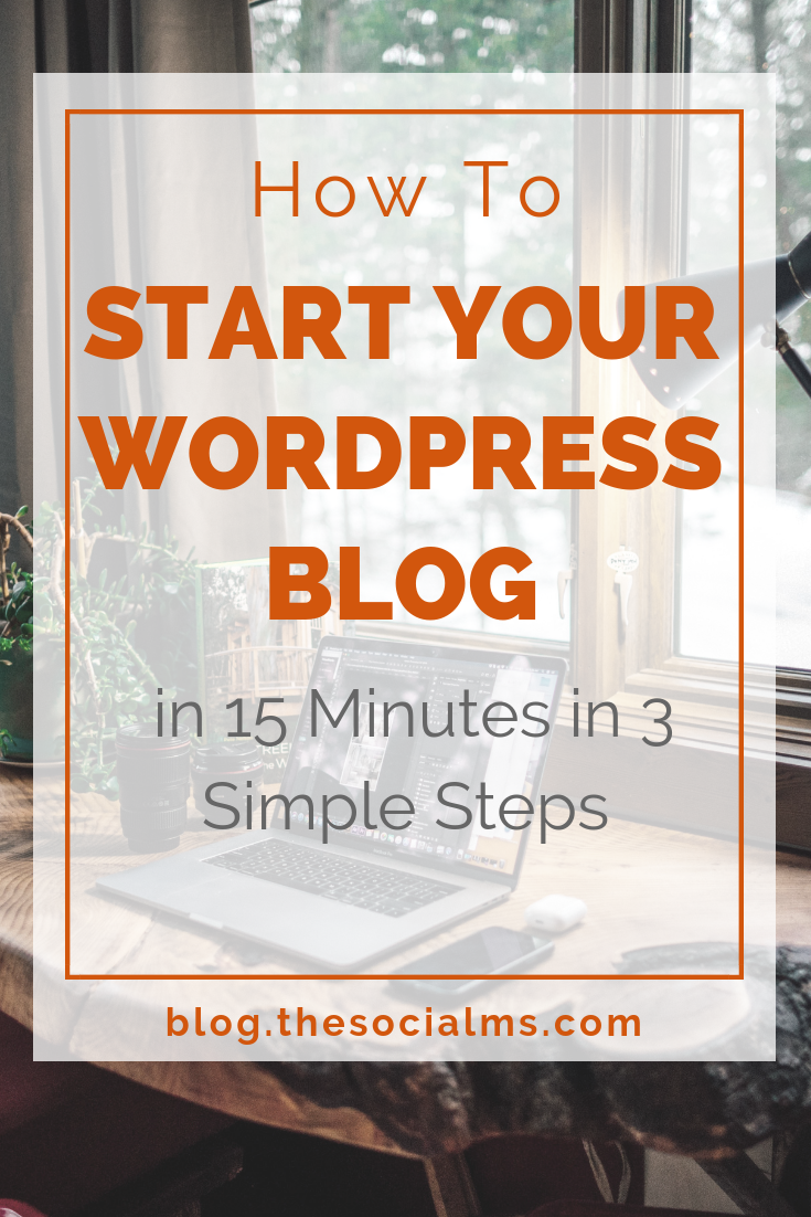 Your step-by-step guide to starting your WordPress blog with Cloudways in 15 minutes - or less. It is easier than you think to find reasonable hosting and get started quickly. #startablog #bloggingforbeginners #bloggingtips #bloggingsuccess #bloghosting