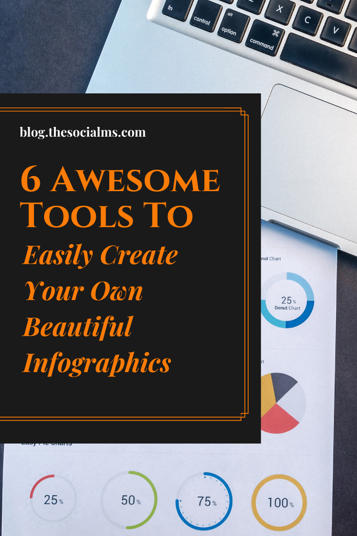 In social media and content marketing, infographics have by far not lost their power. People love this form of content. Here are 6 awesome tools to help you create your own beautiful infographics.