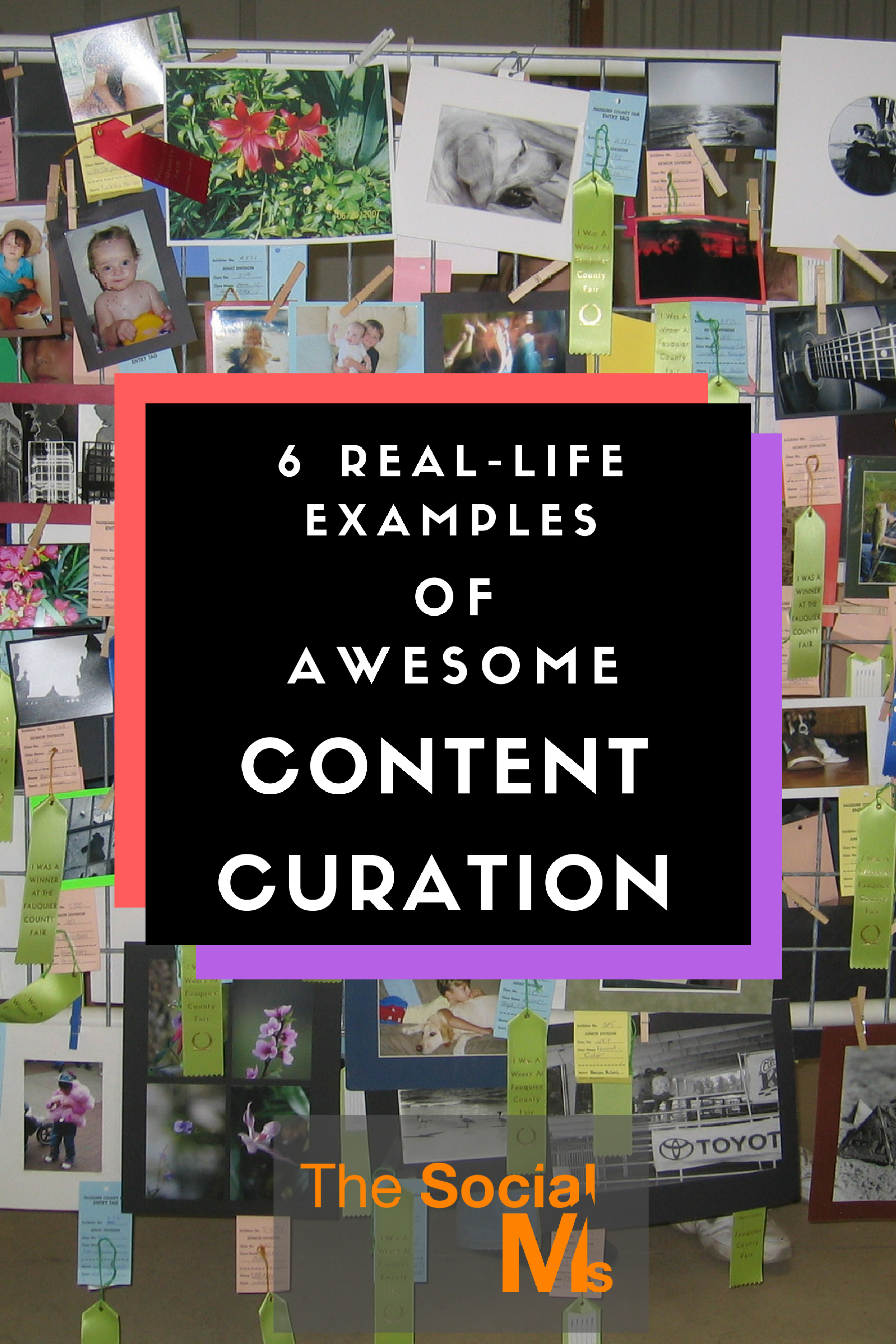 These examples of real life content curation to inspire thoughts and discussions about what content curation really is and how it can and should be used