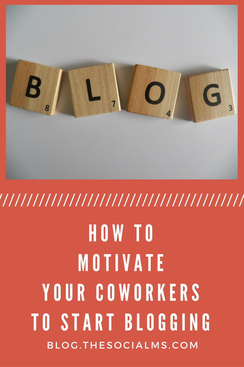 Your company blog is a very powerful tool. To have high-quality content you must motivate your employees to contribute their knowledge and start blogging.