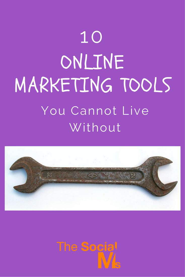 In online marketing, if you are not using tools you are missing out. Here are our 10 favorite online marketing tools to get your marketing to the next level