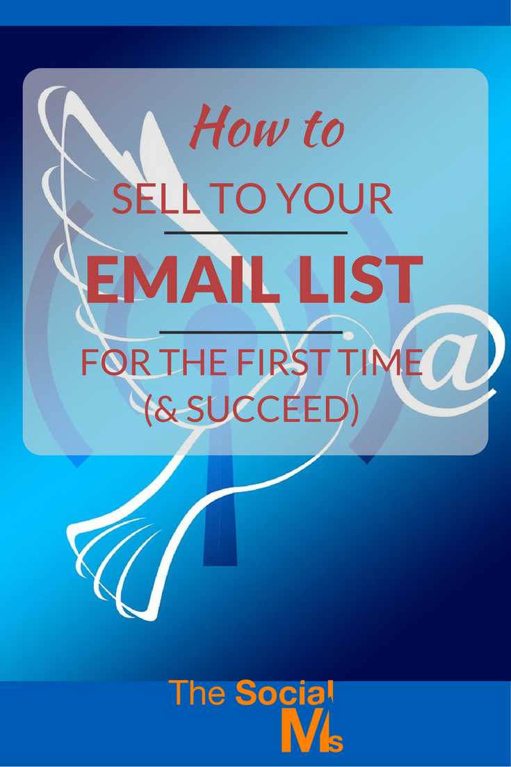Got an army of loyal followers and readers?Trying to sell to your email list for the first time can be scary. Here is how to get it right!