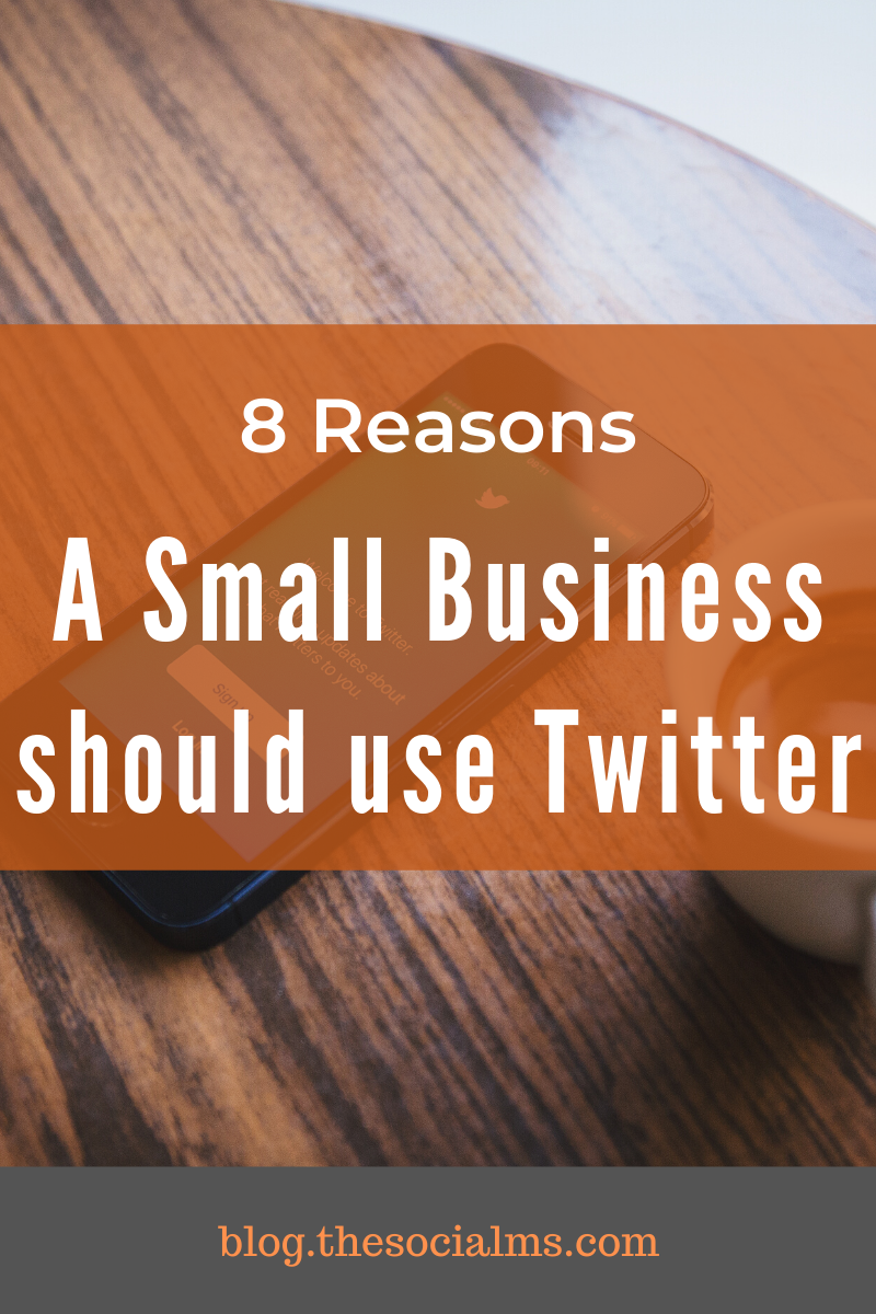 Between all the social networks Twitter has a special place for small business marketing and here are 8 reasons why you should consider Twitter for marketing, too #twitter #twittertips #twittermarketing #socialmedia #socialmediatips #smallbusinessmarketing #socialmediamarketing