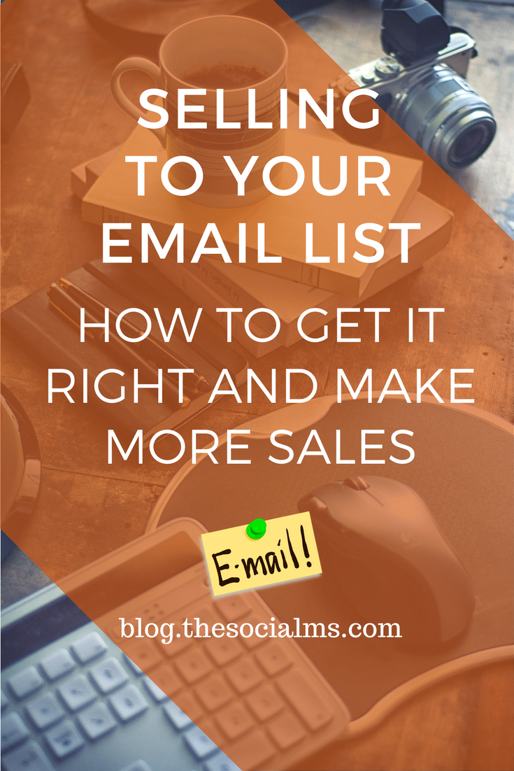 Got an army of loyal followers and readers?Trying to sell to your email list for the first time can be scary. Here is how to get it right! email marketing, email list building, subscribers, email subscribers