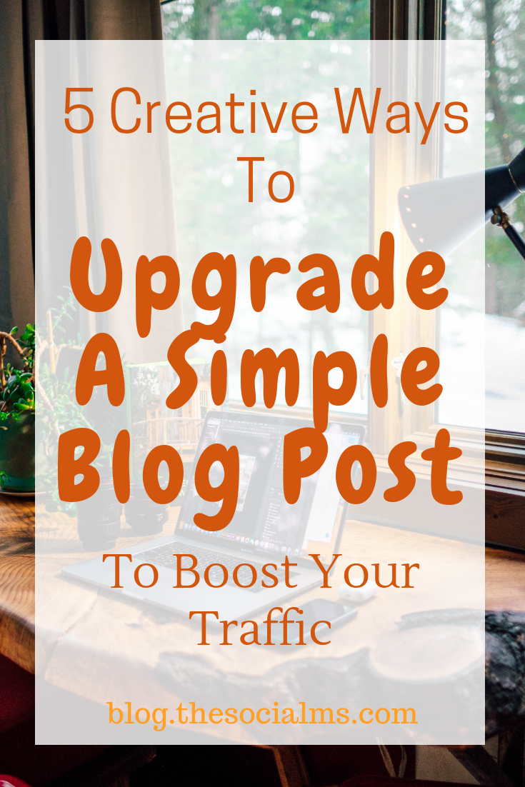 Some additional traffic sources for your blog can be accessed by simply adding some additional content forms and use them to upgrade a blog post. #blogbetter #bloggingtips #bloggingsuccess #blogtraffic #bloggingforbeginners