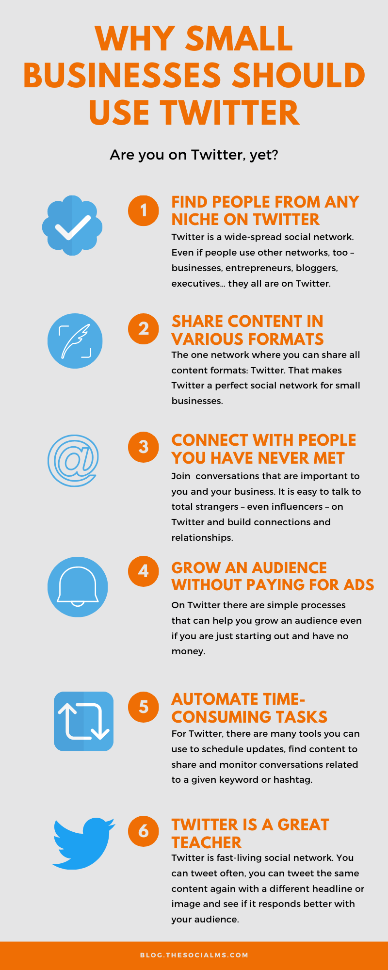Twitter has a special place for small business marketing and here are the reasons why you should consider Twitter for marketing, too #twitter #twittermarketing #twittertips #twitterstrategy #smallbusinessmarketing #startupmarketing #onlinebusiness #socialmedia #socialmediatips #socialmediamarketing