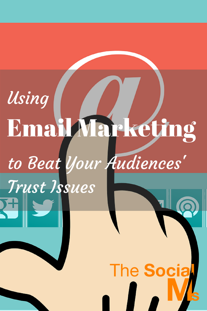 Email marketing is by far the most effective tool available to all marketers. Here is how to counter the mistrust of web audiences and sell more via email.