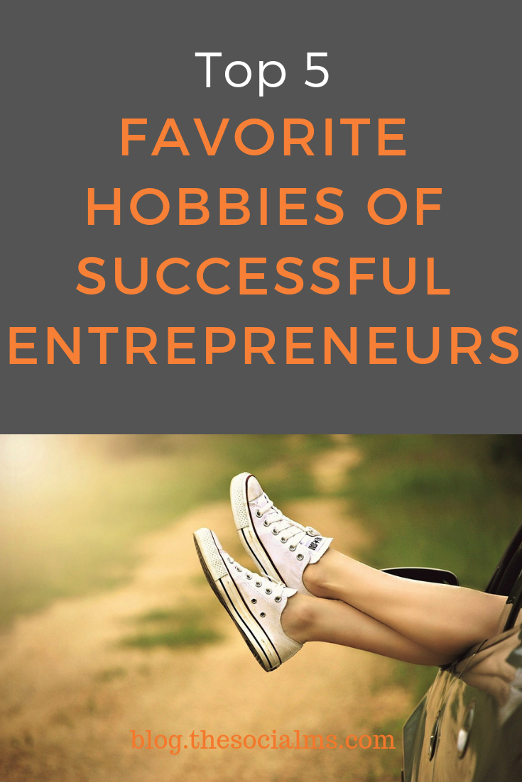 With the entrepreneurial path comes massive stress. The secret solution of successful entrepreneurs? They bury themselves in their favorite hobbies. Some hobbies help to cope with the stress and the responsibilities of entrepreneurship. Find your favorite hobby and live a happier blogger life. #onlinebusiness #entrepreneurship #buildyourmpire #bloggingbusiness