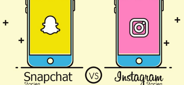 Infographic: Snapchat Stories vs Instagram Stories