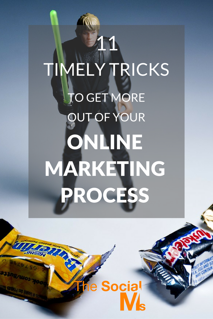 Online marketing does not happen on its own. Often little tweaks and online marketing tricks can make a huge difference in results.