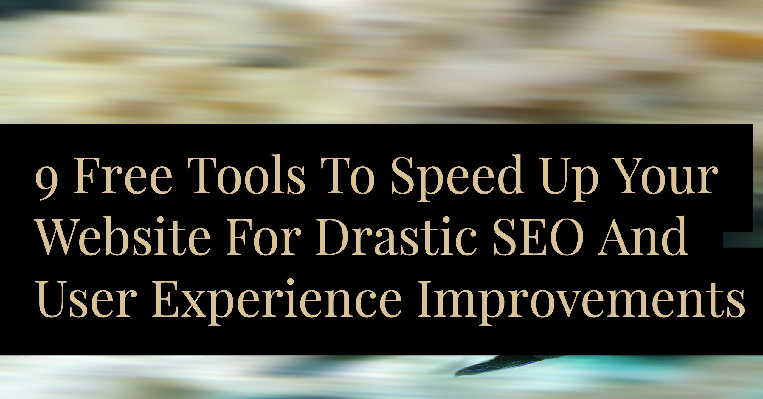 blog.thesocialms.com - Jonathan Gebauer - 9 Free Tools To Improve Your Page Speed For SEO And User Experience