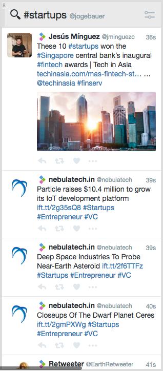 Tweetdeck Column - get leads