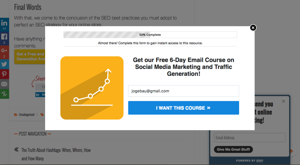Signups Email Marketing