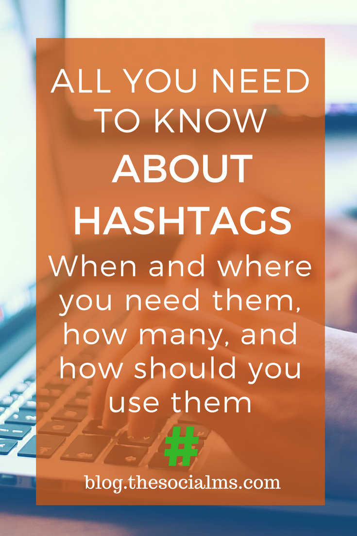 The right use of a hashtag in social media is complicated and differs from network to network. Here is how to use hashtags in each network.