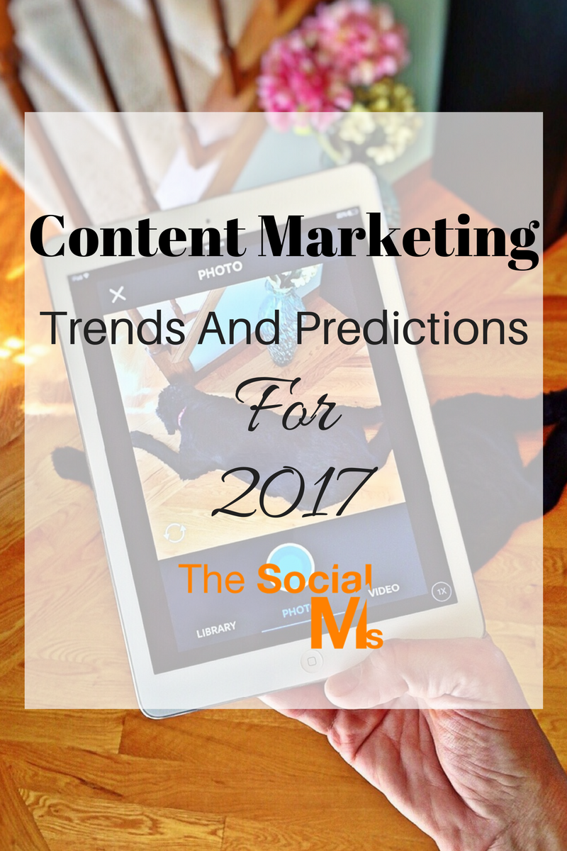 Content Marketing is still a hot and evolving topic when it comes to online marketing. Here are the most important content marketing trends for 2017