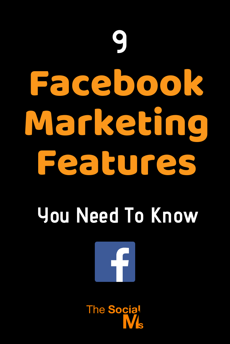 We humans tend to stick to what we know. In social media marketing, that can be dangerous. Social media is evolving. There are new platforms rising and shining - and the established social networks evolve and come up with new features all the time. Here are 9 Facebook marketing features you need to know. #facebook #facebookfeatures #facebooktips #facebookmarketing #socialmedia #socialmediamarketing #socialmediatips
