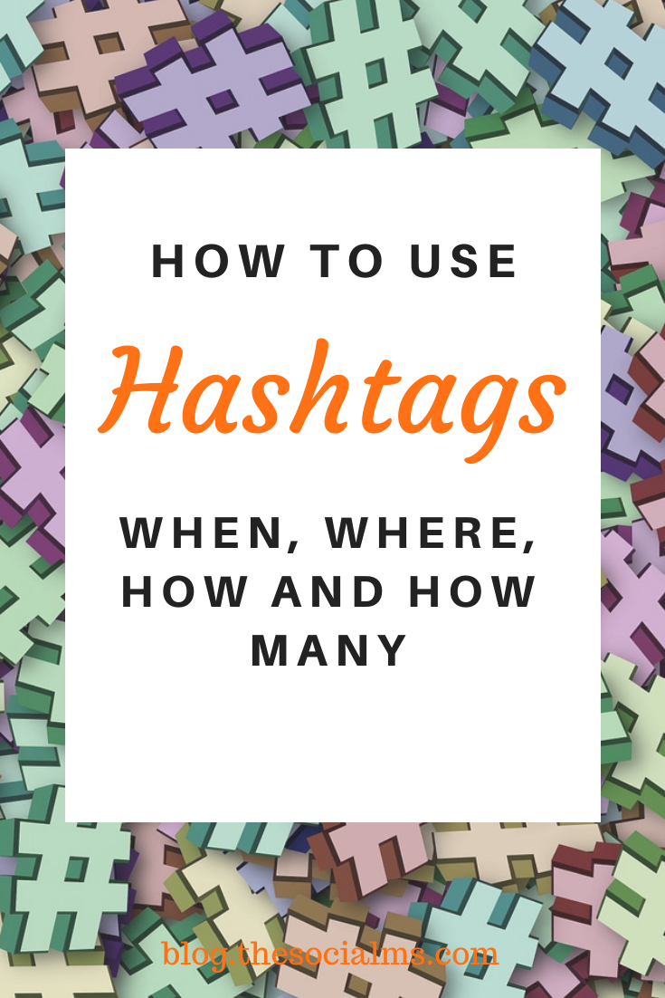 While some networks love hashtags others never really got friendly with them. In some networks, you cannot have too many hashtags in others more than two will lead to smaller success. #hashtags #socialmedia #socialmediatips #socialmediamarketing #bloggingtips