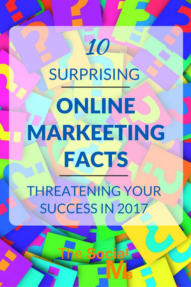 Some online marketing facts come as a surprise. Here are 10 surprising facts you should know to optimize your online marketing efforts.