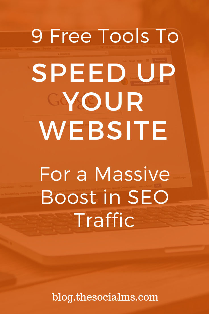 The Page Speed your site loads at after a user has clicked a link or entered a URL in their browser is of vital importance for your SEO and User Experience. A fast website or a fast loading blog will get more traffic from Google than a slow website. Here is how to make sure that your blog loads fast. #bloggingtips #seo #seotools #trafficgeneration #blogtraffic
