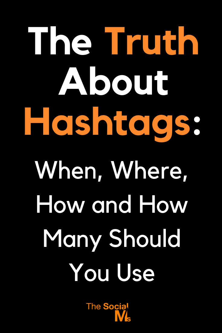 How many hashtags should you use in which social network? Too many hashtags can be bad. Unlock social media success by using the right number of hashtags. Learn how you should use hashtags to get more attention to your content. #hashtags #socialmediamarketing #socialmediatips #socialmediastrategy