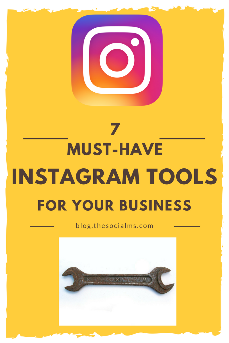 There are a number of awesome Instagram tools that can help you to use Instagram more effectively and quickly. Here are 7 must have Instagram tools. Instagram marketing, Instagram tips, Instagram strategy, Instagram ideas #Instagram #Instagramtips #Instagrammarketing #Instagramideas