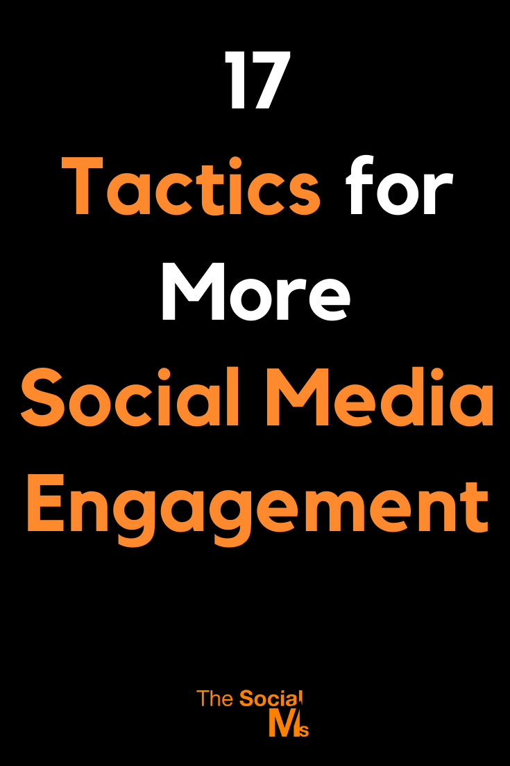 some tips, tricks, and tactics to get more social media engagement from your audience. #socialmedia #socialmediatips #socialmediamarketing #socialmediaengagement