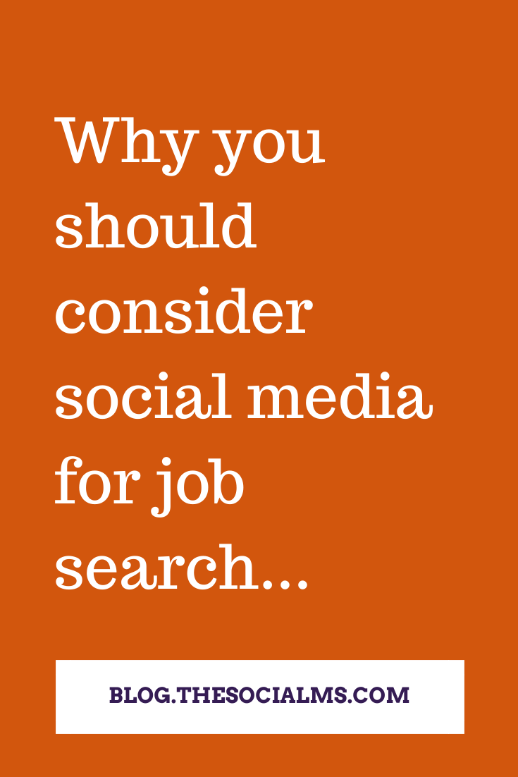 social media ca help you get a job if you make the effort. Here is how you make the effort and use social media to help you get a job. #socialmediatips #socialmedia #jobsearch