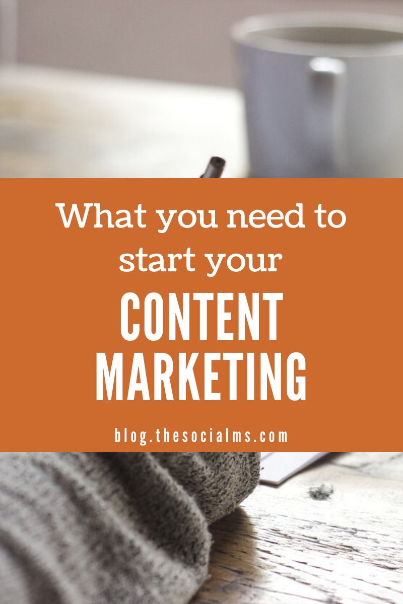 here are the basics that you should know before you start with your own content marketing – and the steps you have to take to make a success out of your content marketing efforts. #contentmarketing #contentmarketingstrategy #digitalmarketing #bloggingtips #contentmarketingtips