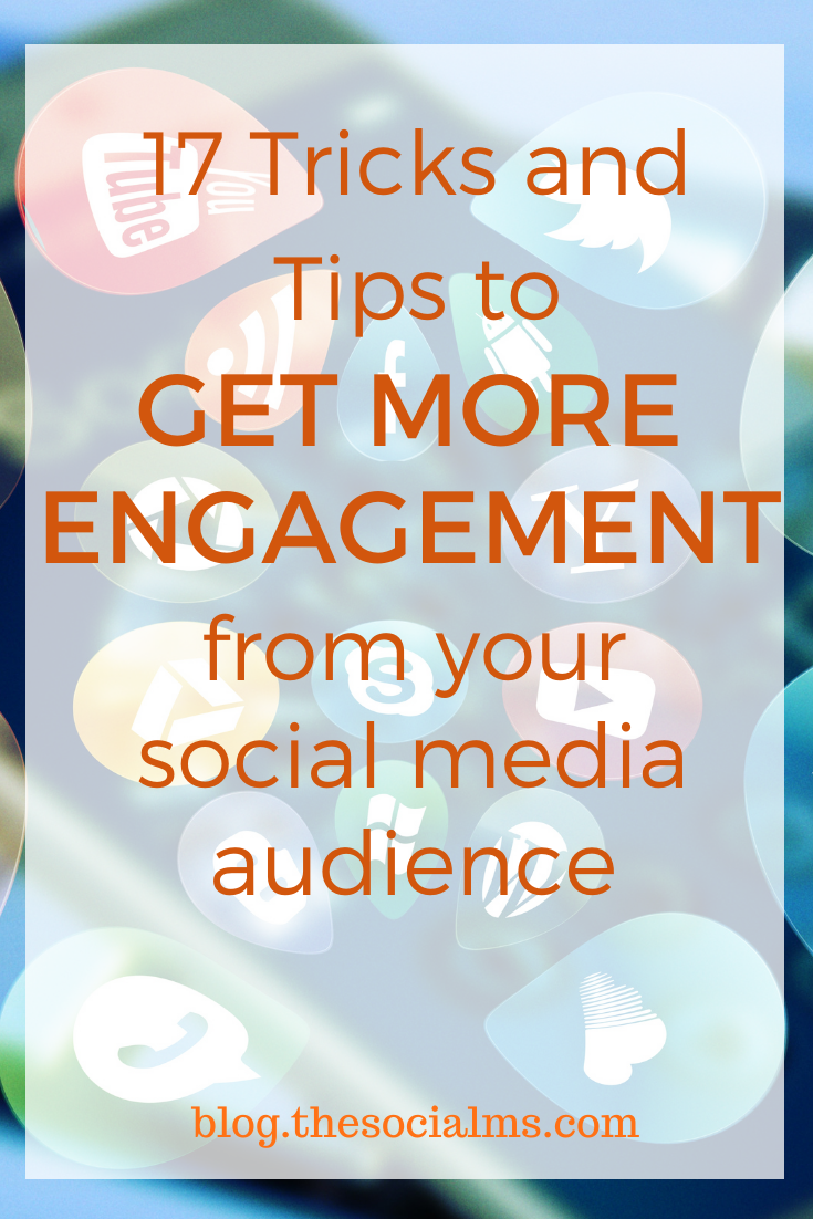 Social media engagement is crucial for success. Here are tips, tricks, and tactics to get more social media engagement from your social audience. #socialmedia #socialmediatips #socialmediamarketing #socialmediaengagement #marketingstrategy #digitalmarketing