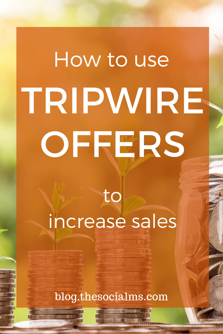 There are different techniques to attract prospects. Tripwire offers have proven to be one of the most efficient. Why? Read here how they work. Tripwire offers can be a great way to increase sales. #onlinebusiness #onlinesales #tripwire #bloggingformoney #makemoneyblogging