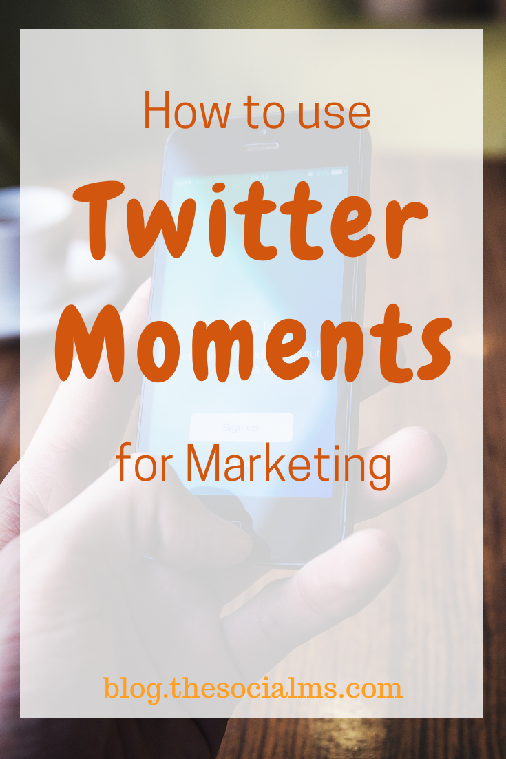 Twitter moments deserve more attention and more people using them. Here is how to use Twitter moments and how to integrate them in your Twitter marketing. #twitter #twitterfeatures #twitterstrategy #twittertips #socialmedia #socialmediamarketing