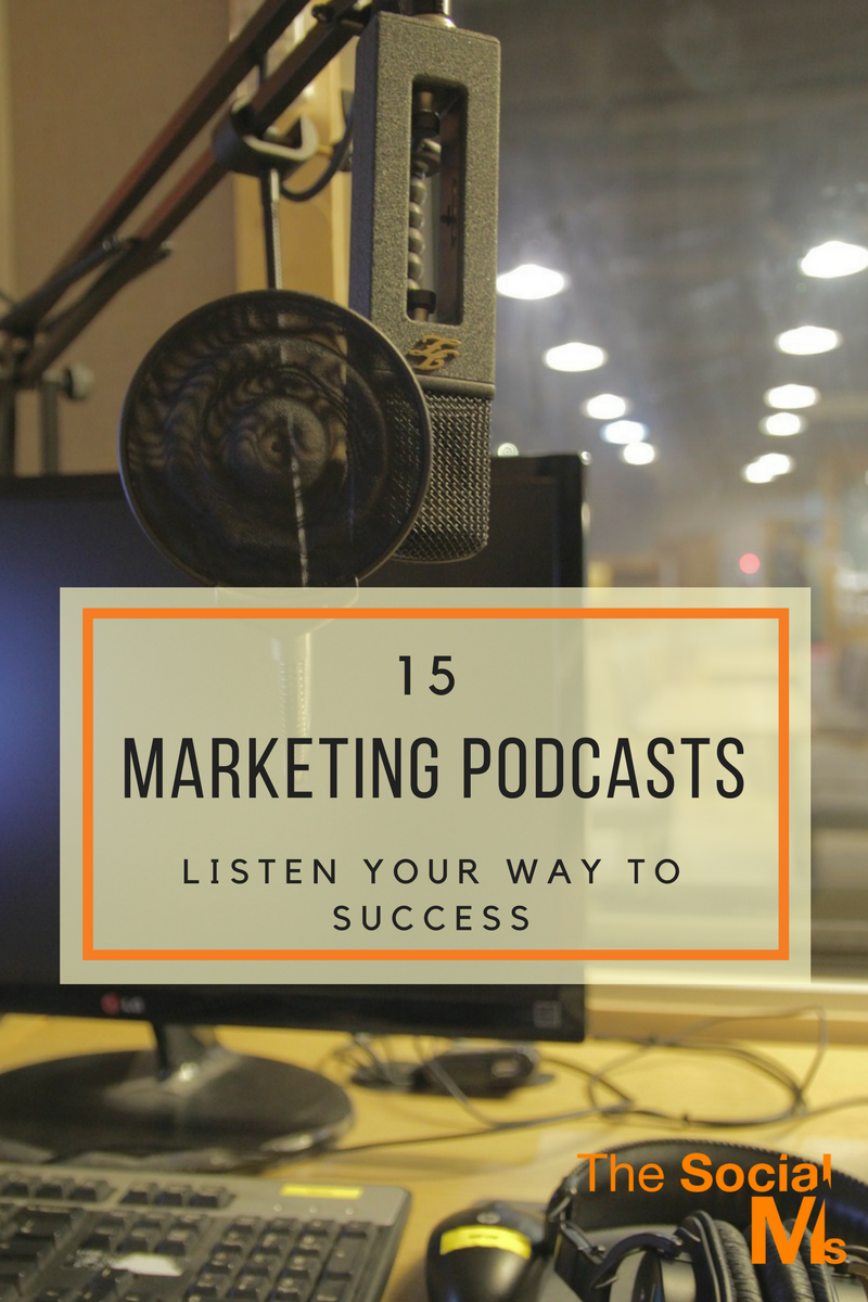 Here are the 15 best marketing podcasts for every situation. There is the right podcast for everyone and they bring you awesome information and solve problems.
