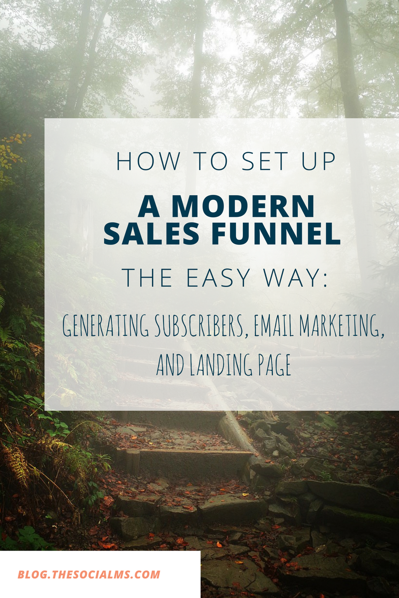 Any business or individual looking to earn money online needs a modern sales funnel. This is an in-depth post on how to set one up yourself and optimize it: From generating subscribers email marketing and landing pages.