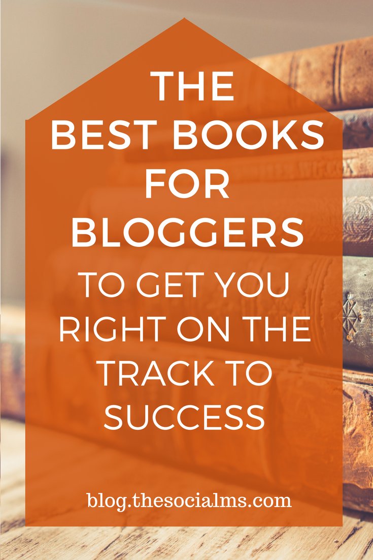 The best books for bloggers that we found helpful and entertaining. These are the best books to get you started with blogging and on the track to success. books for bloggers, books on blogging, blogging books, books about blogging