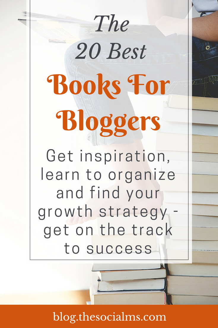 The best books for bloggers that we found helpful and entertaining. These are the best books to get you started with blogging and on the track to success. Learn what you need to know from these books on blogging for beginners. blogging books, books about blogging, blogging books, books for bloggers