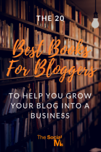Here are the best books to help new bloggers become better bloggers and find blogging success. #bloggingforbeginners #bloggingtips #startablog