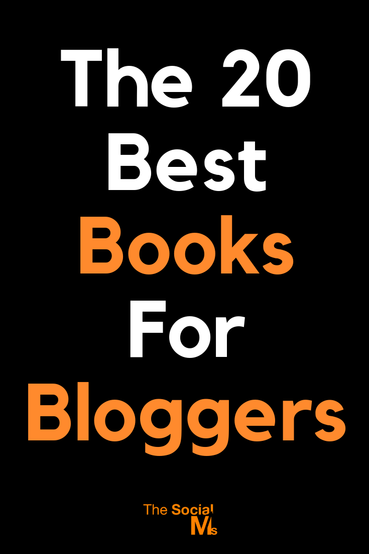The best books for bloggers that we found helpful and entertaining. These are the best books to get you started with blogging, find awesome blogging tips and on the track to blogging success. #books #bloggingtips #startablog #bloggingforbeginners #bloggingadvice #bloggingsuccess