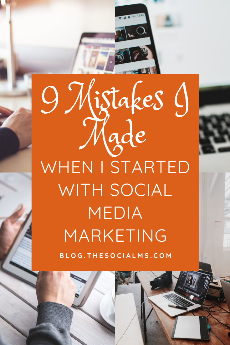 Here are 9 mistakes I made along the way - and what you can learn from them.