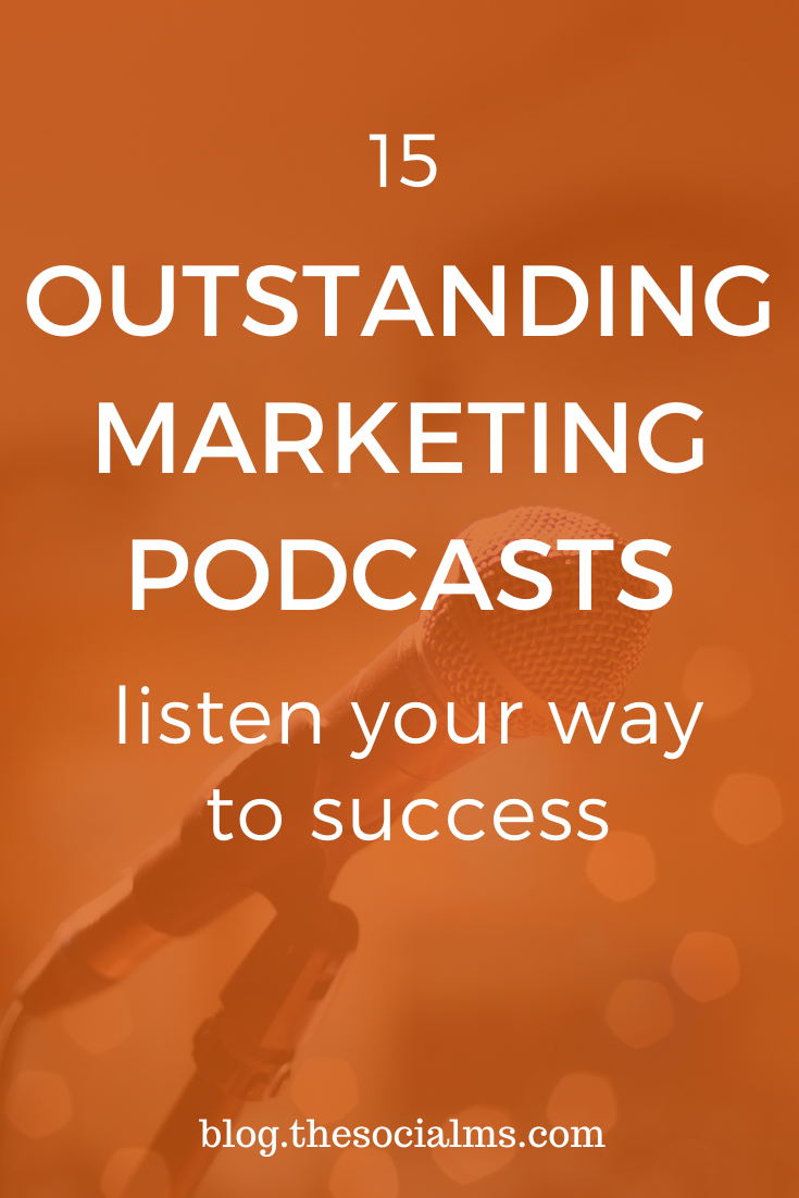 These amazing marketing podcasts allow you to consume marketing information while you are busy with other work. #marketinginformation #marketingpodcasts #marketingstrategy #digitalmarketing