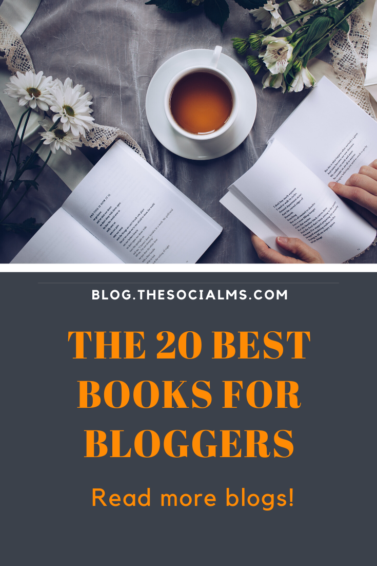 These books will help you get your blogging to new heights or help you with the basic information you have been looking for. These are the best books for bloggers to get you started with blogging and right on the track to success. #blogging101 #bloggingforbeginners #startablog #bloggingbooks #bloggingtips