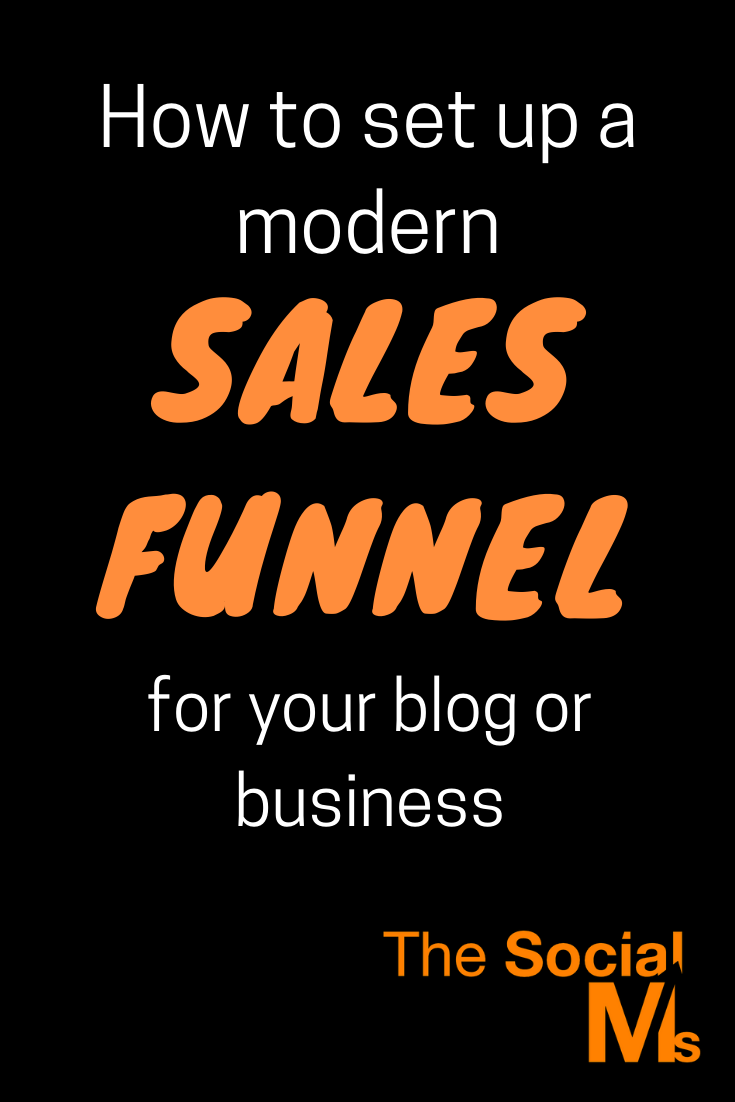 Whether you are a blogger looking to monetize, a small business looking to grow or a big corporation looking to expand - chances are you need a modern sales funnel. Here is how to set up a sales funnel for your blog or business #salesfunnel #leadgeneration #makemoneyblogging #bloggingformoney #onlinebusiness #blogging101 #bloggingforbeginners #startablog #bloggingtips